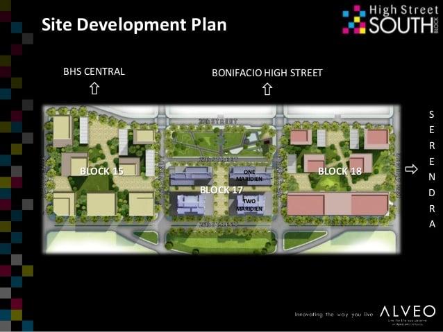 One Maridien - Site Development Plan