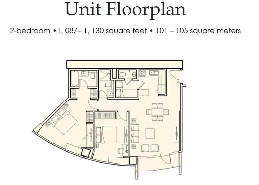 The Royalton - Unit Floorplan