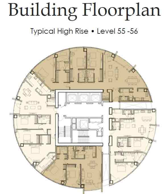 The Royalton - Building Floorplan
