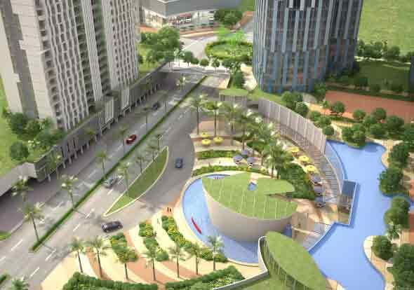 Six Senses Resort - Aerial View
