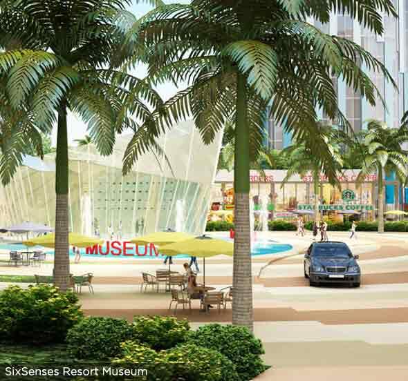 Six Senses Resort - Resort Museum