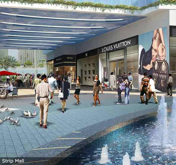 Six Senses Resort - Strip Mall