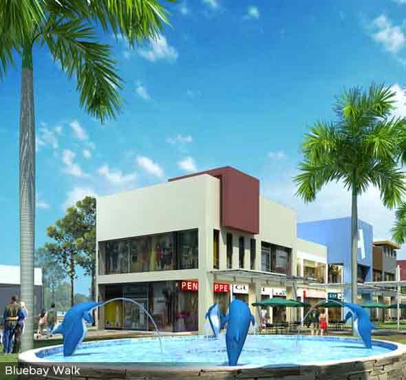 Six Senses Resort - Bluebay Walk
