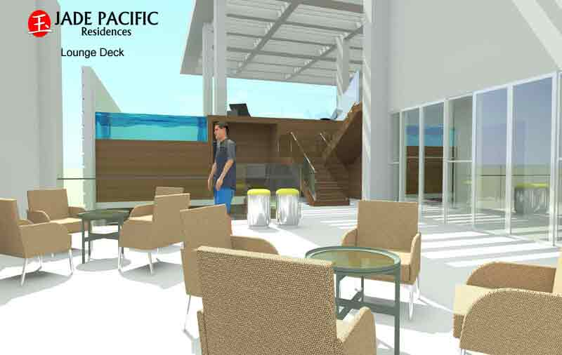 Jade Pacific Residences - Lounge Deck