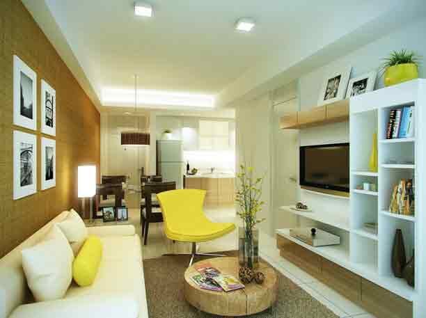 Jade Pacific Residences - Living Area