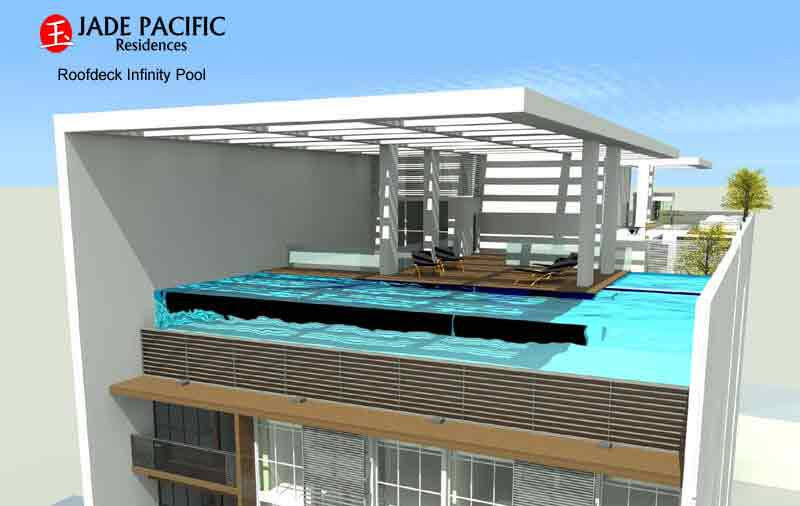 Jade Pacific Residences - Roofdeck Infinity Pool