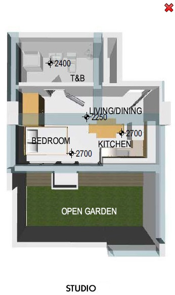 Jade Pacific Residences - Studio Unit
