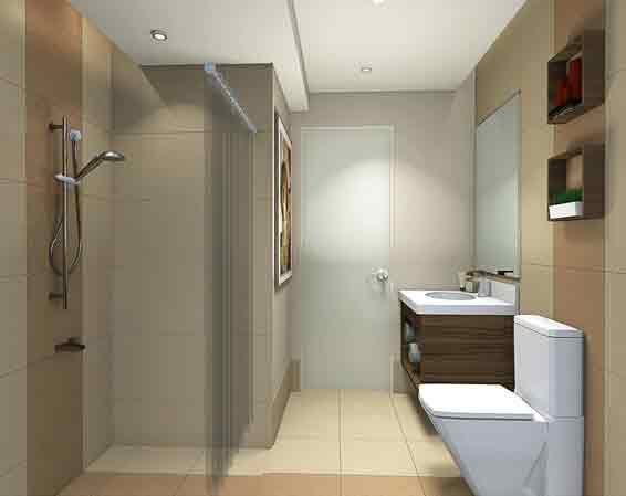 Jade Pacific Residences - Two Bedroom Bathroom