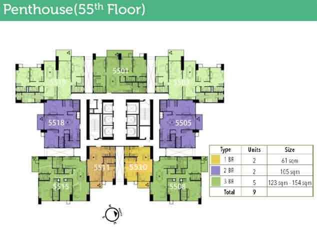 High Park - Penthouse 55th Floor