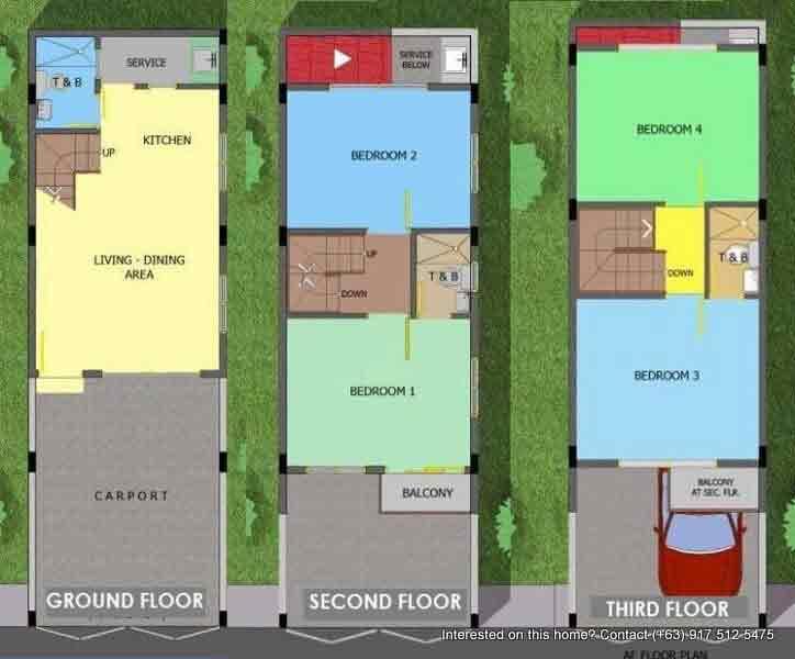 La Terraza - floor Plan