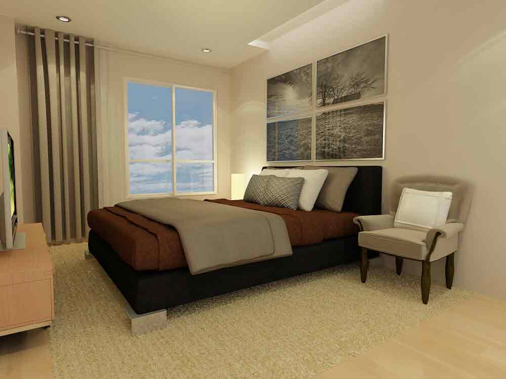 Marquee Residences - Master Bedroom