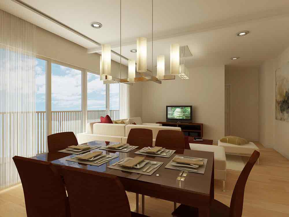 Marquee Residences - Living & Dining
