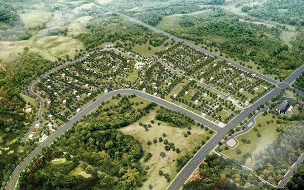 Mondia NUVALI - Aerial view