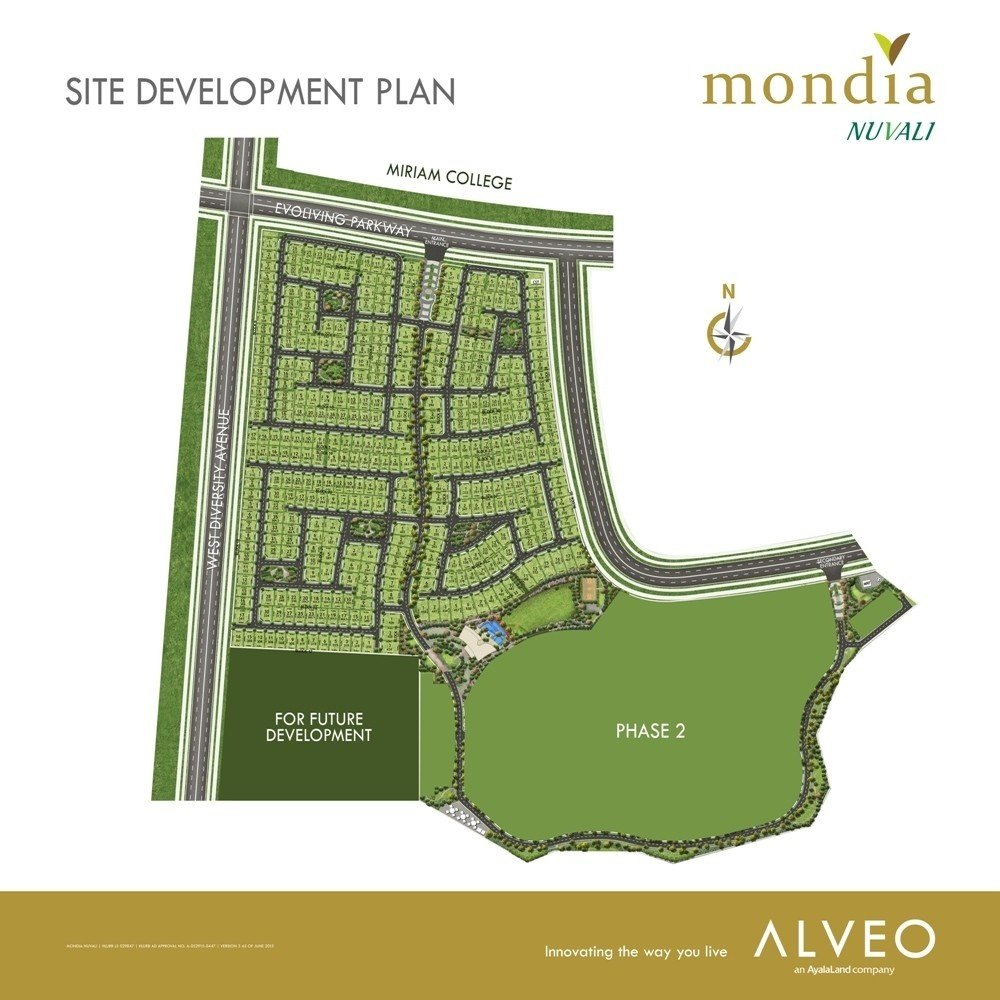 Mondia NUVALI - Site Development Plan