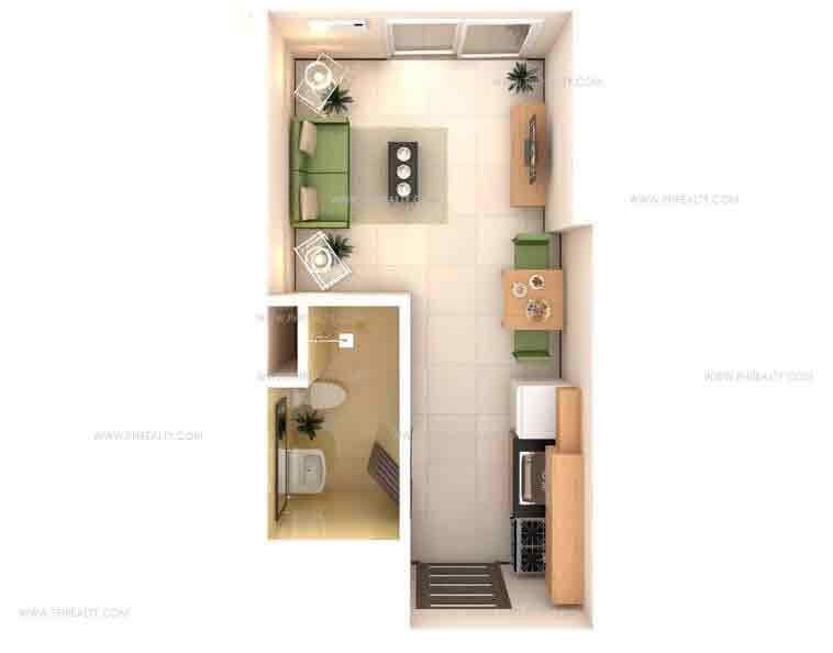 Salcedo Square - Studio Unit Type B