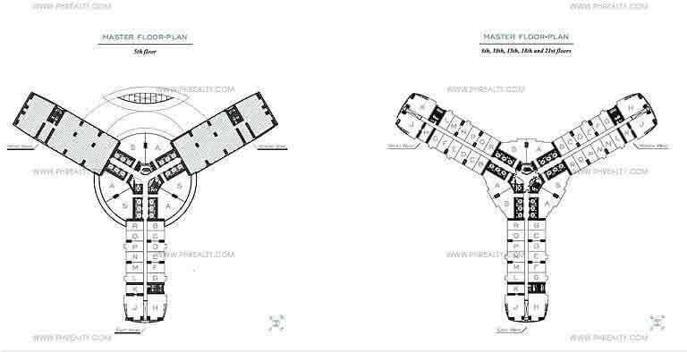 The Rise - Typical Floor Plan