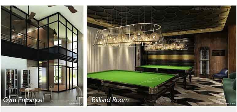 The Rise - Billiard Room