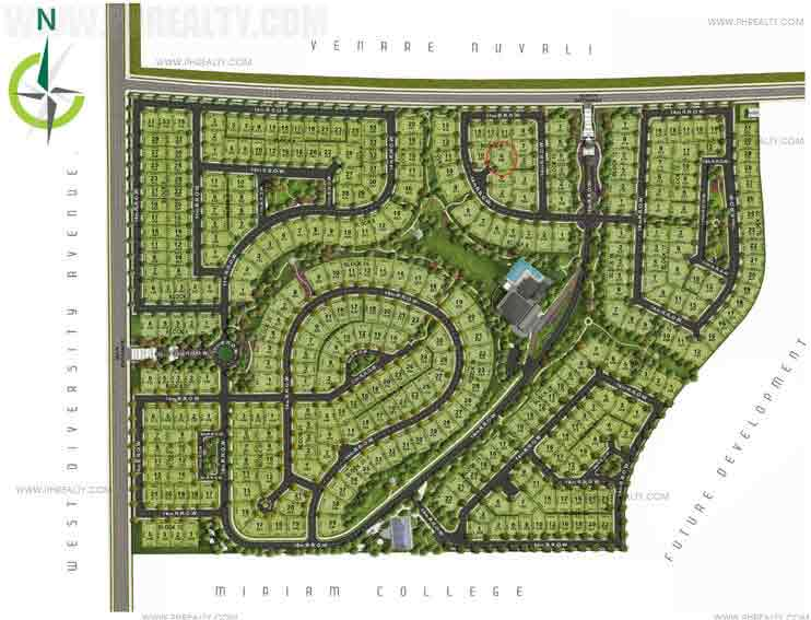 Mirala Nuvali  - Site Development Plan