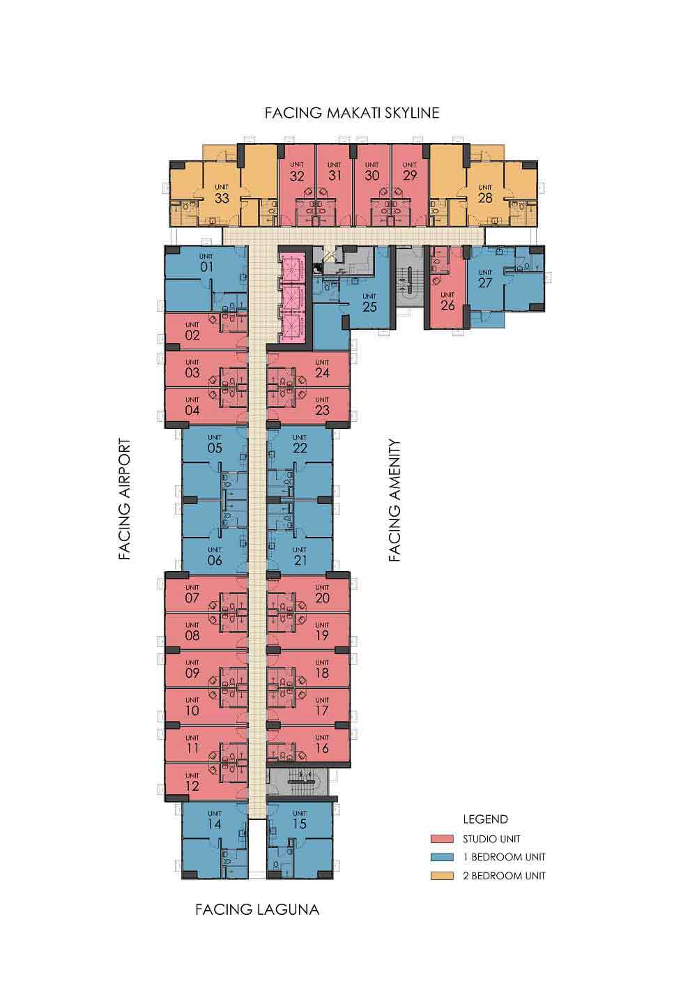 One Union Place - Typical Floor Plan