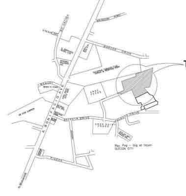 Montville Place A. Bonifacio - Location Map