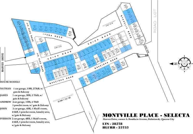Montville Place A. Bonifacio - Site Development Plan