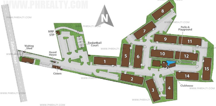 Hacienda Balai - Building Plan