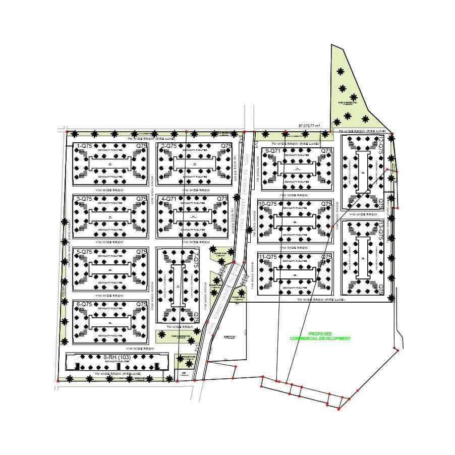 Urban Deca Homes Tondo - Site Development Plan