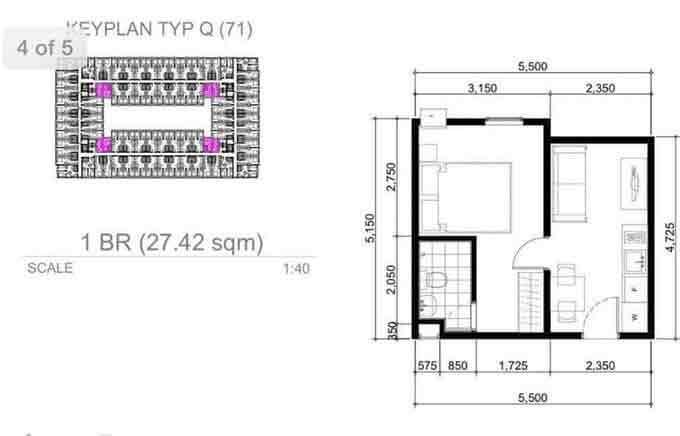 Urban Deca Homes Tondo - 1 Bedroom Unit