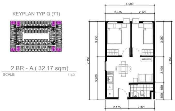 Urban Deca Homes Tondo - 2 Bedroom Unit