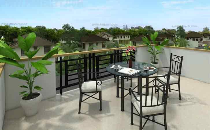 Metrogate Tagaytay Estates - Aurora Balcony