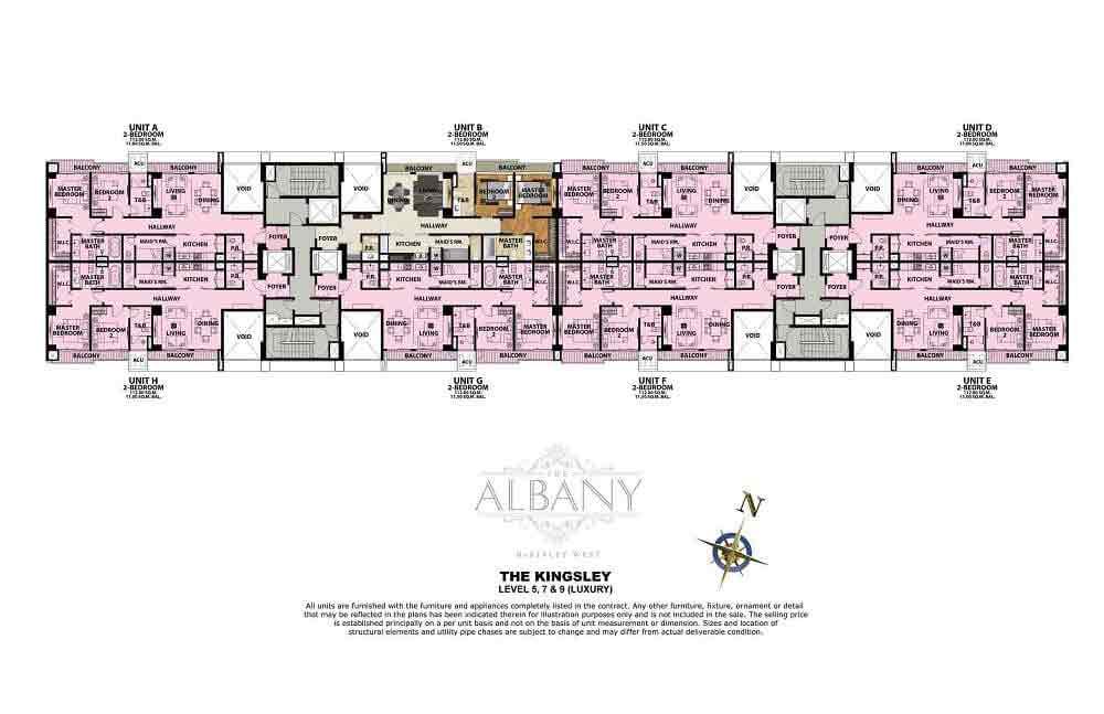 The Albany - Level 5, 7, 8 & 9 (Luxury)