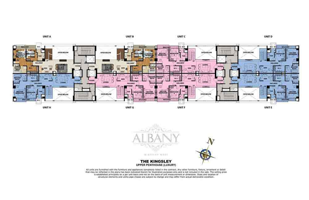 The Albany - Upper Penthouse (Luxury)