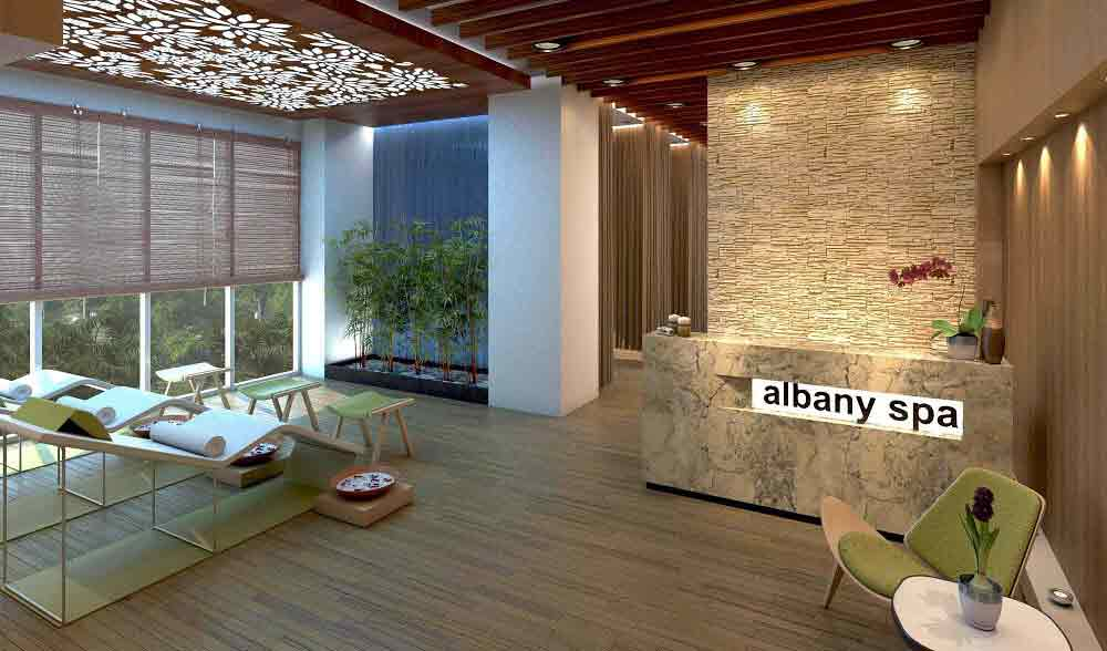 The Albany - Spa Room