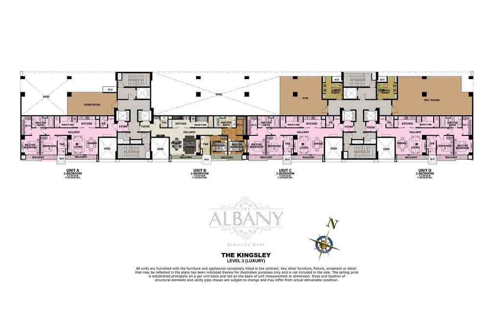 The Albany - Level 3 (Luxury)