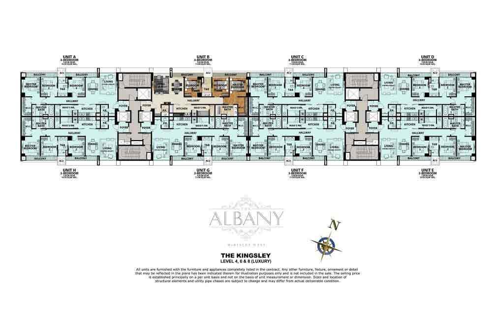The Albany - Level 4, 6 & 8 (Luxury)