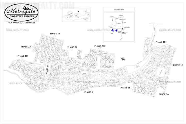 Metrogate Tagaytay Estates - Site Development Plan
