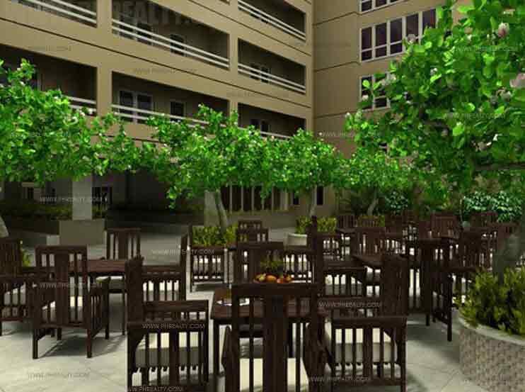 Illumina Residences Manila  -  Lanai Area
