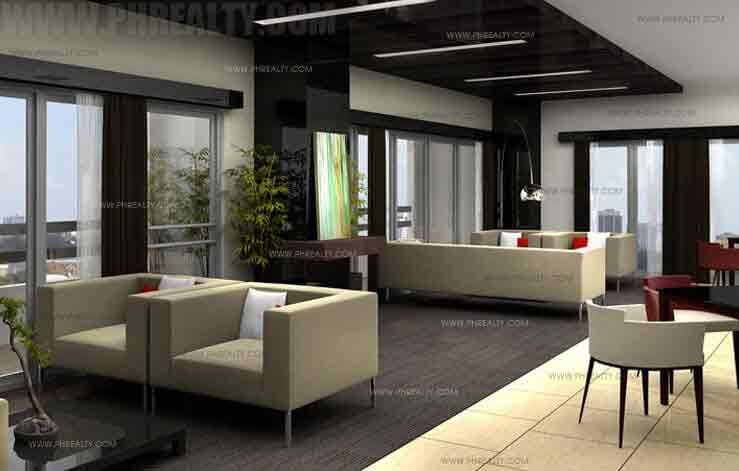Illumina Residences Manila  - Sky Lounge