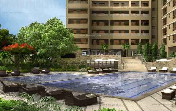 Illumina Residences Manila  - Lap Pool