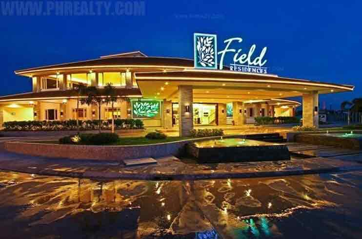 Field Residences - Clubhouse Night View