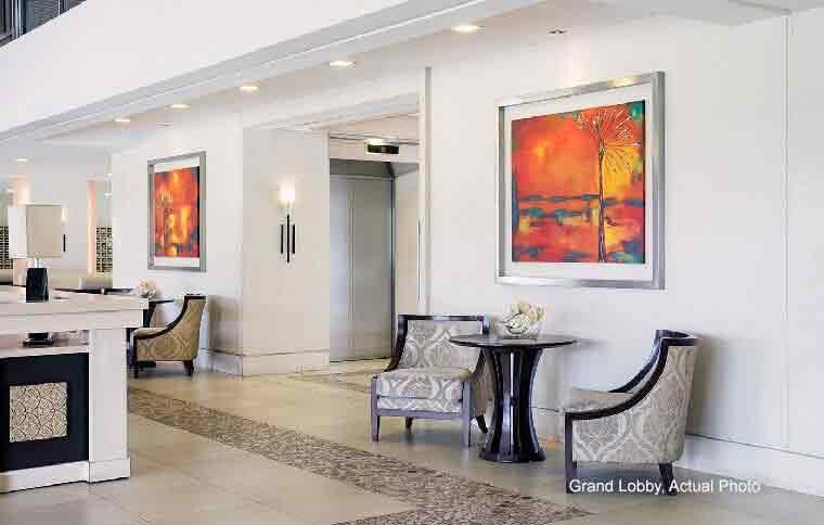 Field Residences - Grand Lobby