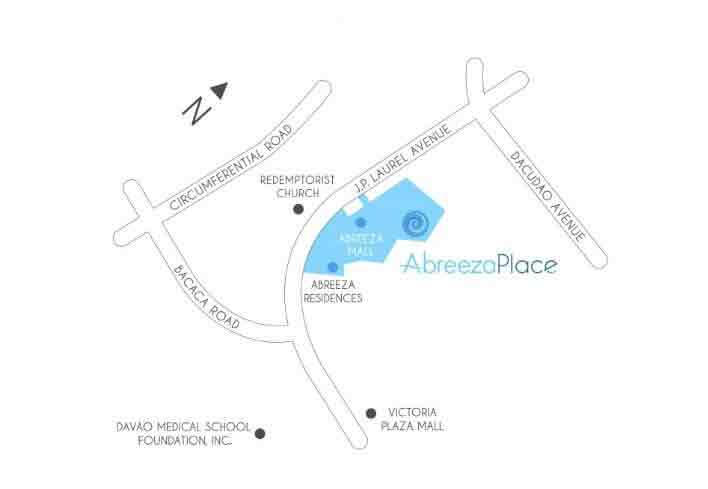 Abreeza Place - Location & Vicinity