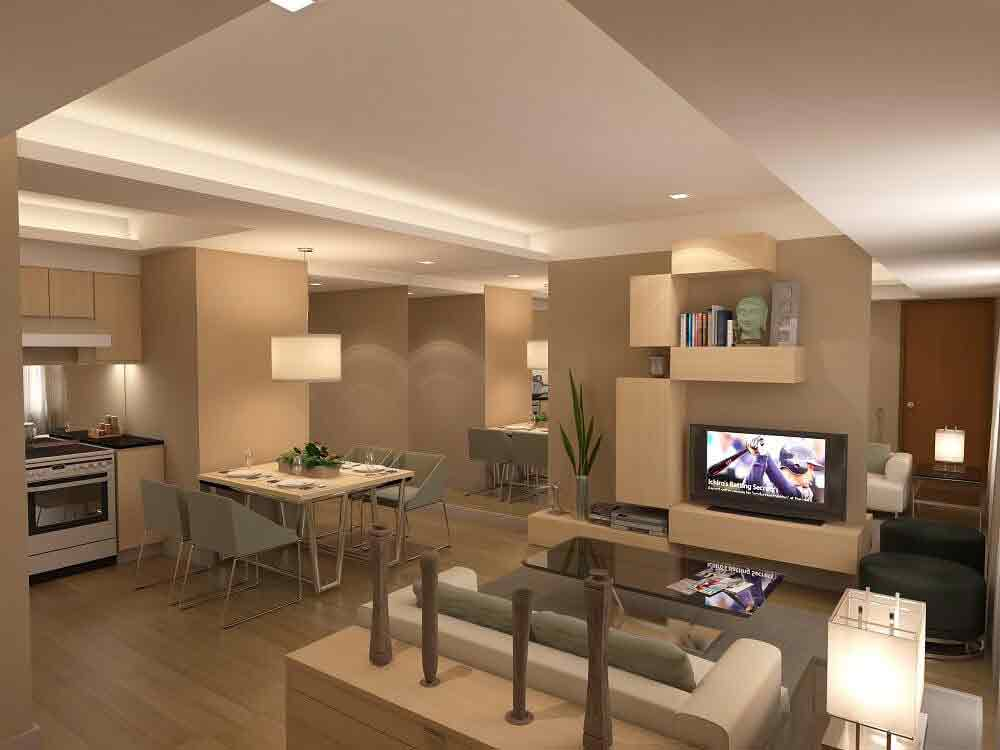 Abreeza Place - Living and Dining Area