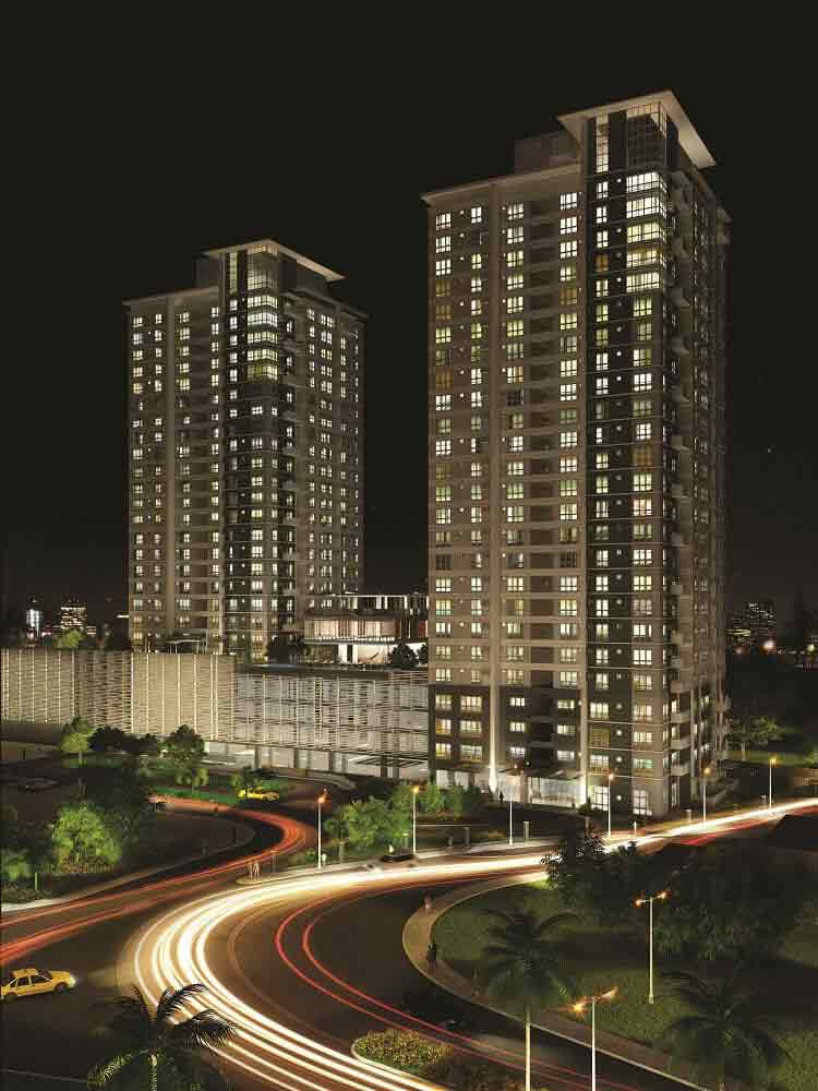 Abreeza Place - Building Facade (Night)