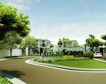 Amaia Scapes Bauan - Entrance Gate