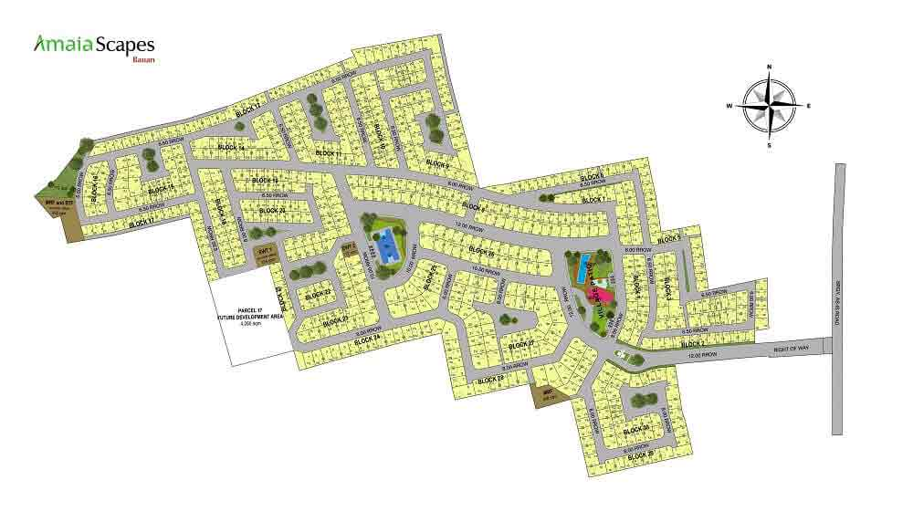 Amaia Scapes Bauan - Site Development Plan