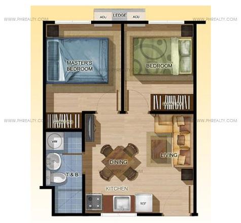 One Spatial Condos - 2 Bedroom Unit