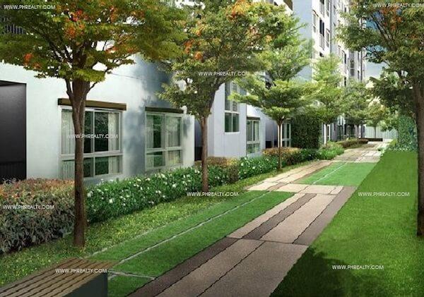 One Spatial Condos - Green Corridors