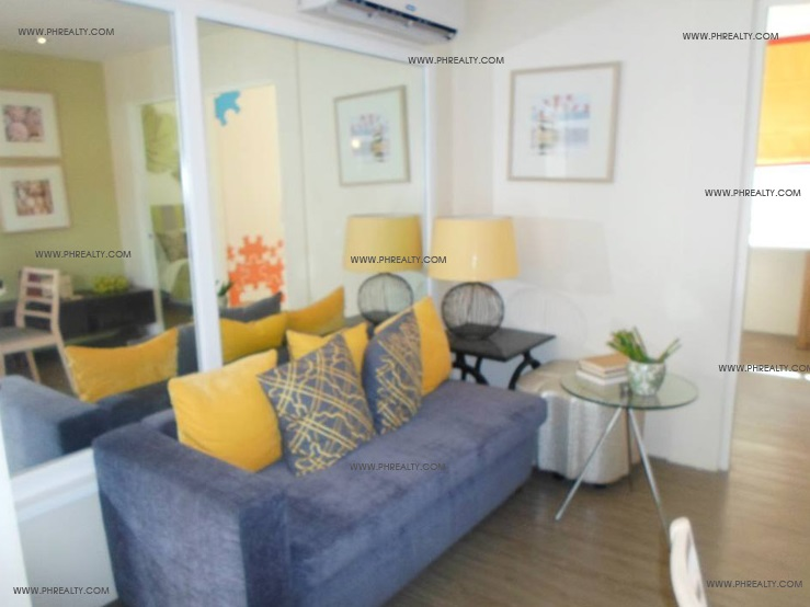 One Spatial Condos - Living Room
