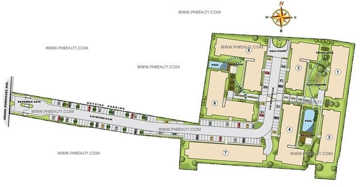 One Spatial Condos - Building Plan